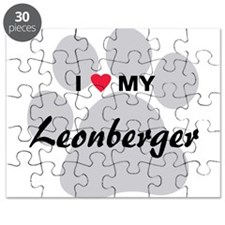 I Love My Leonberger Puzzle