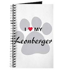 I Love My Leonberger Journal