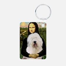 Mona's Old English Sheepdog Keychains