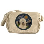 Starry Old English (#3) Messenger Bag