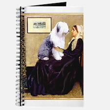 Mom's Old English Sheepdog Journal