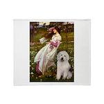 Windflowers / OES Throw Blanket
