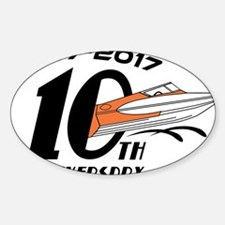 CGOAMN 10th Anniversary Simple Decal