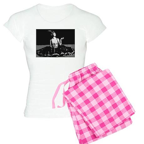 Art Deco Pose Women's Light Pajamas