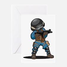 SWAT Greeting Card