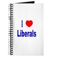 I Love (Heart) Liberals Journal