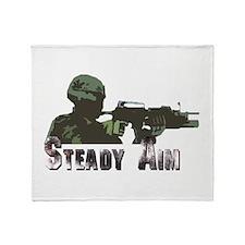 Steady Aim Throw Blanket