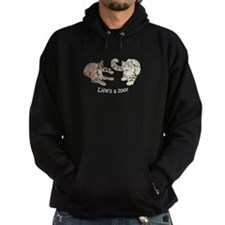 Ocelot/Snow Leopard Hoodie