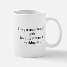 working out joke Mug