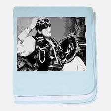Mirror Image baby blanket