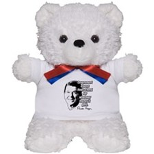 Reagan Quote Government Spending Teddy Bear
