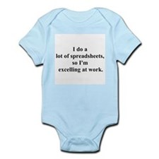 spreadsheet joke Infant Bodysuit