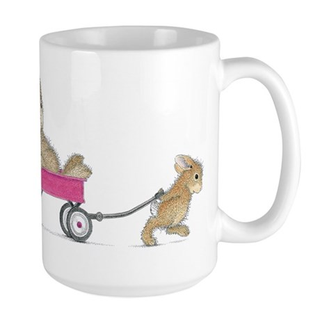 HappyHoppers® - Bunny - Large Mug