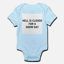 hell is closed Infant Bodysuit