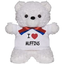 I heart muffins Teddy Bear