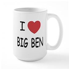I heart big ben Mug