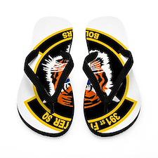 391st Fighter Squadron Bold T Flip Flops