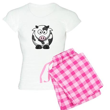 Cartoon Cow Women's Light Pajamas