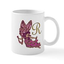 Fairy Monogram R Mugs