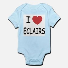 I heart eclairs Infant Bodysuit