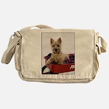 Baby Cairn Terrier Messenger Bag