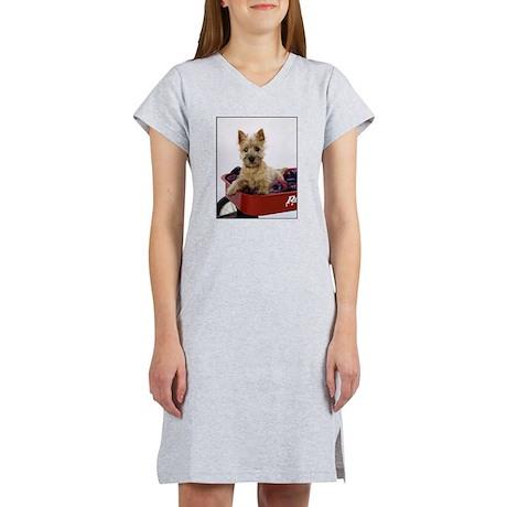 Baby Cairn Terrier Women's Nightshirt