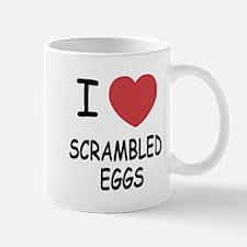 I heart scrambled eggs Mug