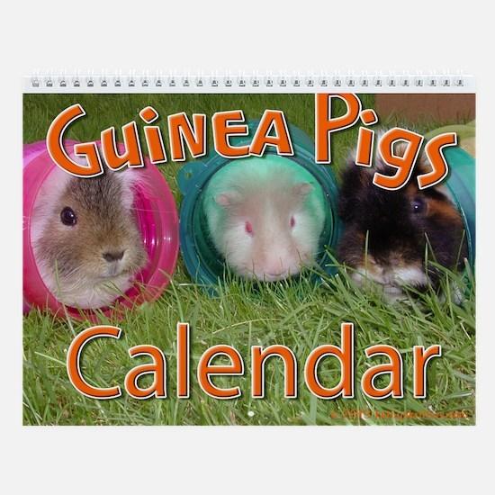 Guinea Pigs #2 Wall Calendar