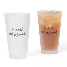 I rocked oral argument. Drinking Glass