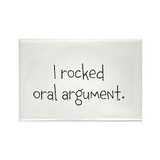I rocked oral argument. Rectangle Magnet (10 pack)