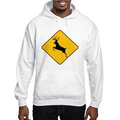 Deer crossing Hoodie