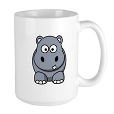 Cartoon Hippopotamus Mug