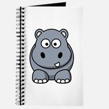 Cartoon Hippopotamus Journal