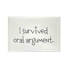 I survived oral argument. Rectangle Magnet