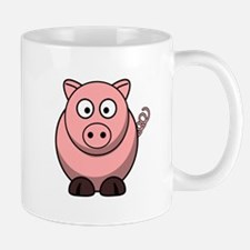 Cartoon Pig Mug