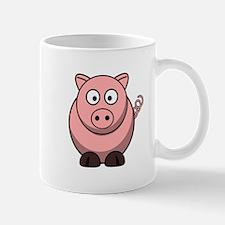 Cartoon Pig Mug