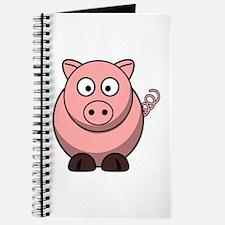 Cartoon Pig Journal
