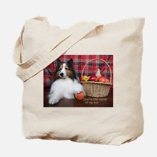You're the apple of my eye Tote Bag