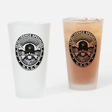 USCG Intelligence Specialist Drinking Glass