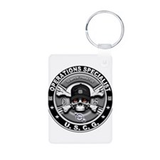 USCG Operations Specialist Sk Keychains