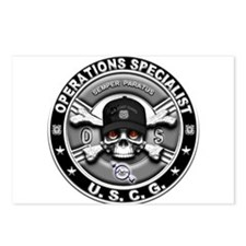 USCG Operations Specialist Sk Postcards (Package o