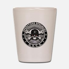 USCG Operations Specialist Sk Shot Glass