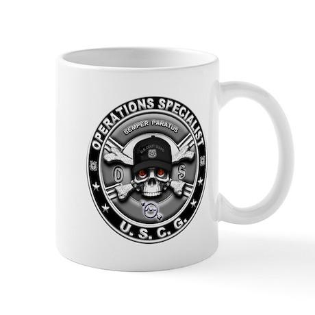 USCG Operations Specialist Sk Mug