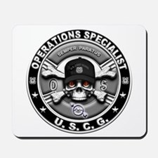 USCG Operations Specialist Sk Mousepad