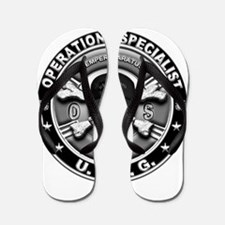 USCG Operations Specialist Sk Flip Flops