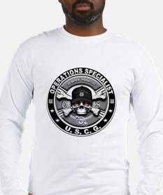 USCG Operations Specialist Sk Long Sleeve T-Shirt