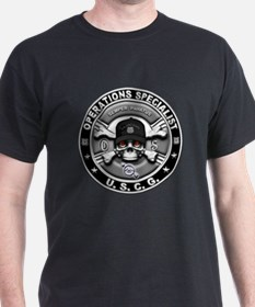 USCG Operations Specialist Sk T-Shirt