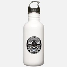 USCG Gunners Mate Skull GM Water Bottle