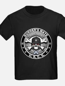 USCG Gunners Mate Skull GM T