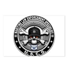 USCG Maritime Law Enforcement Postcards (Package o